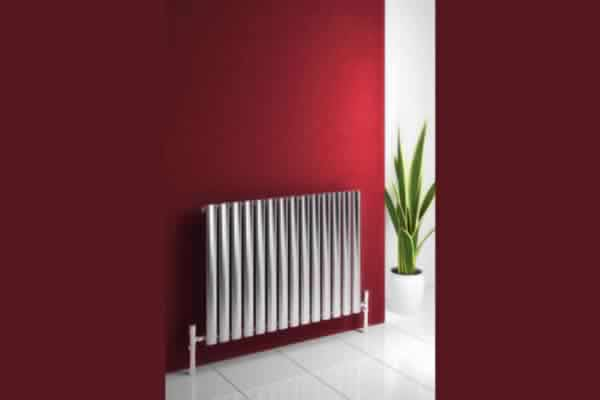 Central heating wall radiator